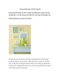 Trang trí hành lang và lối đi trong nhà