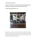 7 điều cần lưu ý khi sơn phòng