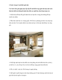 12 bước trang trí nội thất ngôi nhà