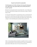 Bí quyết chọn đồ nội thất cho phòng khách