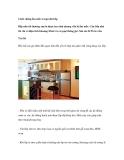Cách chống ẩm mốc trong nhà bếp
