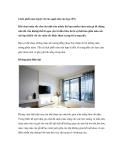 Cách phối màu tuyệt vời cho ngôi nhà của bạn (P1)