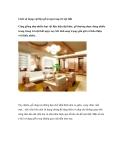 Cách sử dụng vật liệu gỗ trong trang trí nội thất