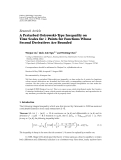 """Báo cáo hóa học: """"  Research Article A Perturbed Ostrowski-Type Inequality on Time Scales for k Points for Functions Whose Second Derivatives Are Bounded"""""""