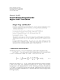 """Báo cáo hóa học: """" Research Article Ostrowski Type Inequalities for Higher-Order Derivatives"""""""
