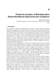 Proteomics Human Diseases and Protein Functions Part 9