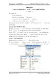 Chương 10: Sử dụng các module và thủ tục