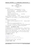 Chương 9: Bẫy lỗi và sử dụng cấu trúc xử lý lỗi