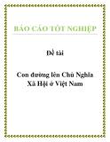 Báo cáo: Con đường lên Chủ Nghĩa Xã Hội ở Việt Nam