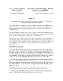 Thông tư số 01/2012/TT-BLĐTBXH