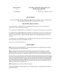 Quyết định số 70/QĐ-BXD