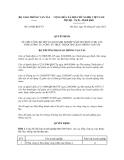 Quyết định số 18/QĐ-BGTVT