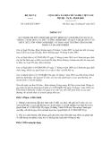 Thông tư số 01/2012/TT-BNV