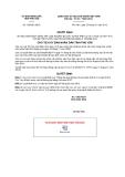 Quyết định số 136/QĐ-UBND