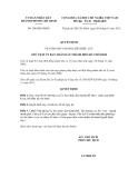 Quyết định số108/QĐ-UBND