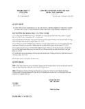 Quyết định số 57/QĐ-BKHCN