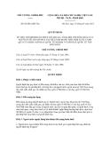 Quyết định số 05/2012/QĐ-TTg