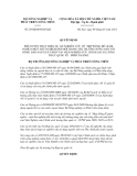 Quyết định số 29/QĐ-BNN-HTQT