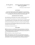 Quyết định số 443/QĐ-BCT