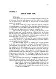 Chương 5: ĐIỆN SINH HỌC