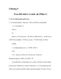 Chương 5 Trao đổi chất ở vi sinh vật (Phần 1)