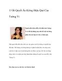 13 Bí Quyết Ăn Kiêng Hiệu Quả Của Tường Vi