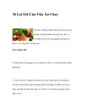 36 Lợi Ích Của Việc Ăn Chay