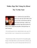 Maika: Đẹp Nhờ Trứng Gà, Khoai Tây với Sữa Tươi