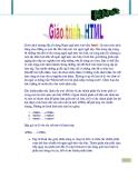 Giáo trình HTML
