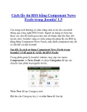 Cách lấy tin RSS bằng Component News Feeds trong Joomla! 1.5