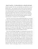 Nguyễn Trung Mậu - vị Cử nhân giữ nhiều chức vụ đứng đầu triều