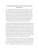 """Báo cáo nghiên cứu khoa học """" Từ những đề nghị cải cách giáo dục của Nguyễn Trường Tộ - Suy nghĩ về giáo dục hiện nay"""""""
