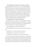 """Báo cáo nghiên cứu khoa học """" Cây trồng biến đổi gen - Thành tựu khoa học đột phá của loài người  """""""