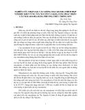 NGHIÊN CỨU CHỌN LỌC CÁC GIỐNG MACADAMIA THÍCH HỢP VỚI ĐIỀU KIỆN VÙNG TÂY NGUYÊN VÀ KHẢ NĂNG PHÁT TRIỂN CÂY MACADAMIA BẰNG PHƯƠNG THỨC TRỒNG XEN