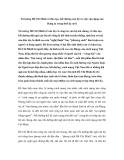 Tư tưởng Hồ Chí Minh về đào tạo, bồi dưỡng cán bộ và việc vận dụng của Đảng ta trong thời kỳ mới