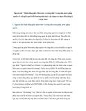 """Nguyên tắc """" Bình đẳng giữa Nhà nước và công dân"""" trong nhà nước pháp quyền về việc giải quyết bồi thường thiệt hại: vận dụng vào thực tiễn pháp lý ở Việt Nam"""
