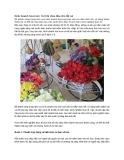 Kinh doanh hoa tươi: Cơ hội chia đều cho tất cả