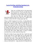 Luyện Nói tiếng Anh bằng Speaking Lab VietnamLearning