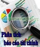 Hạn chế khi phân tích báo cáo tài chính