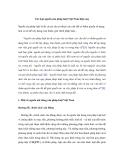Các loại nguồn của pháp luật Việt Nam hiện nay