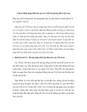 Truyền thống pháp điển hóa qua các triều đại phong kiến Việt Nam