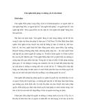 Tài liệu Chủ nghĩa hiến pháp và những yếu tố cấu thành