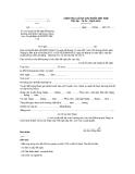 Mẫu xét duyệt và đề nghị đối tượng hưởng chế độ trợ cấp hàng tháng theo Quyết định số 62/2011/QĐTTg