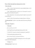 Thủ tục: đổi giấy chứng nhận đăng ký phương tiện thuỷ nội địa