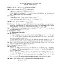 Đề thi thử đại học môn toán năm 2012_Đề số 10