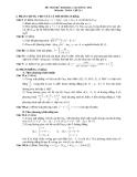 Đề thi thử đại học môn toán năm 2012_Đề số 21