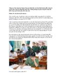 Chỉ tiêu tuyển sinh các trường công an nhân dân năm 2012