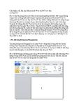 Cải thiện tốc độ cho Microsoft Word 2007 trở lên