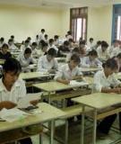 Bí quyết ôn thi môn toán 2012