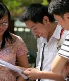 Bí quyết ôn thi môn toán đạt  điểm cao 2012